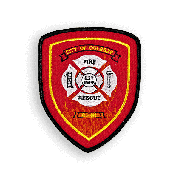 fire dept patch